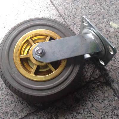 天津8寸金胶转向轮 8寸金胶转向轮厂家 价格 欢迎致电 天津8寸金胶转向轮厂家