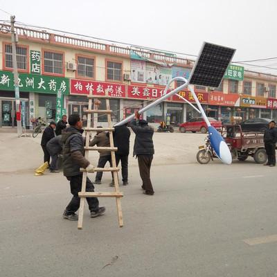 天津厂家 晶达照明6米30W太阳能路灯