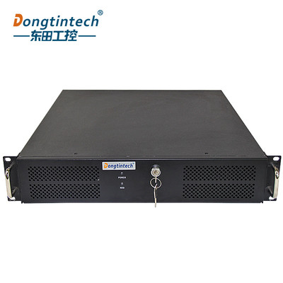 东田2U工控机支持J1900处理器6COM 10USB支持双显服务器工业电脑主机