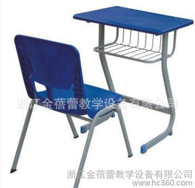 学生培训课桌 单人木制课桌椅BL-21398