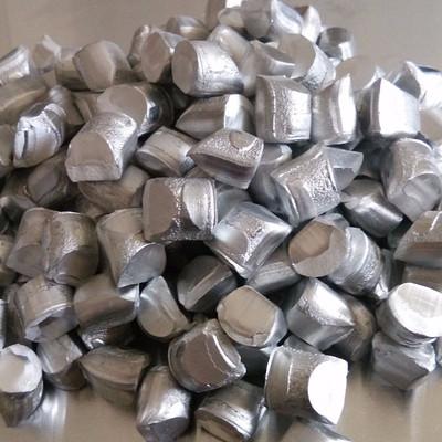 永昌铝业 铝粒 9.5/12mm脱氧铝粒 铝颗粒 永昌铝业 出口铝粒 可代加工铝粒