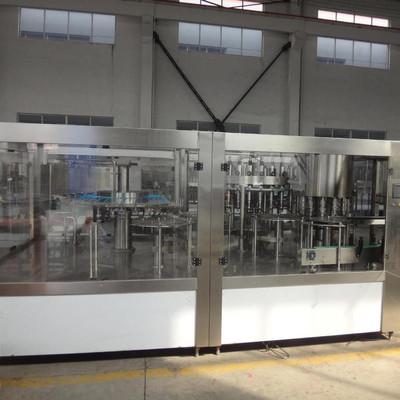 玻璃瓶饮料生产设备 海德能 玻璃瓶含气饮料灌装设备 纯净水处理设备