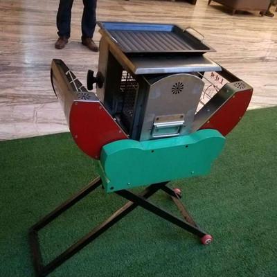 快速自动无烟烧烤机 无烟木炭多功能自动烧烤机 多功能烧烤机 全禾