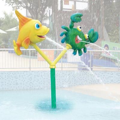 【广东创乐】 儿童互动水上乐园设备、戏水设备、水屋水寨
